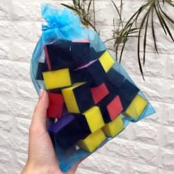 Бафики-кубики одноразовые жесткие (в мешочке ~30 шт)