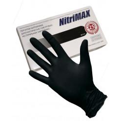 Перчатки нитриловые Archdale Nitrile, р-р XS (50 пар/уп), черные