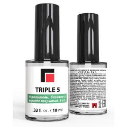 MILV «TRIPLE 5». 5 в 1. Укрепитель, базовое и верхнее покрытие, 10 мл