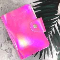 Альбом д/пластин д/стемпинга (на 20шт), Pink Golographic