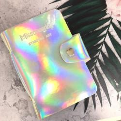Альбом д/пластин д/стемпинга (на 20шт), Silver Golographic