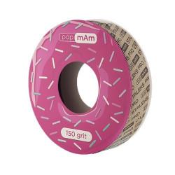 Запасной блок файл-ленты papmAm для пластиковой катушки Bobbinail STALEKS PRO 150 грит (6 м)