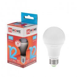 Лампочка светодиодная IN HOME LED-A60,12 Вт, 4000К, 1350Лм