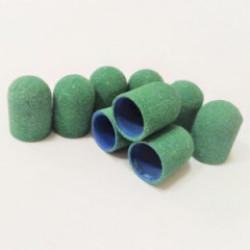 Колпачок д/педикюра, 10*15, зеленый (240 грит)