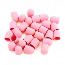Колпачок д/педикюра, 10*15, розовый (180 грит)