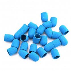 Колпачок д/педикюра, 10*15, синий (120 грит)