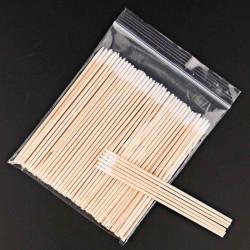 Заострённые ватные палочки (мини стик), 100 шт/уп