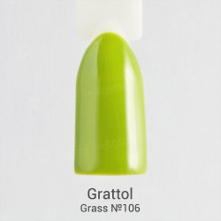 Grattol Color Gel Polish  Grass 106