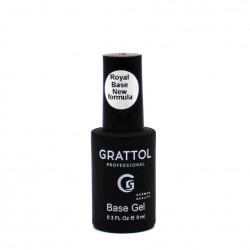 Grattol Rubber Base Gel Royal New Formula, 9ml