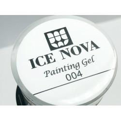 Ice Nova Гель-краска 004 (белая)