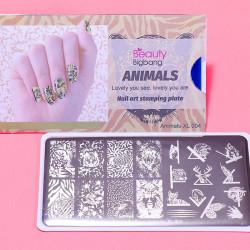 Пластина для стемпинга Beauty Bigbang Animal XL-004