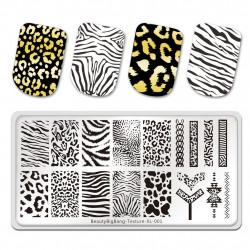 Пластина для стемпинга Beauty Bigbang Texture XL-001